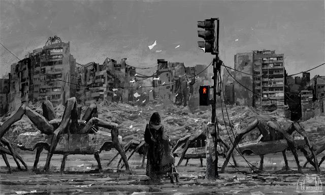 dystopian Alex Andreev